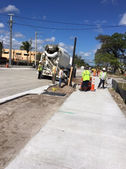 Fdot broward county construction nw 9th avenue for Nw construction